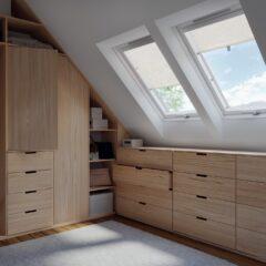 Jak dopasować okna dachowe do poddasza?